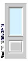 Двери межкомнатные, Родос, Royal, Avalon, полустекло