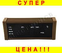 Часы LED ZX-13M с будильником и термометром  + ПОДАРОК: Держатель для телефонa L-301
