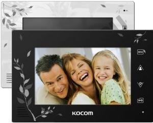 Видеодомофон Kocom KCV-A374 SDLE White