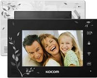 Видеодомофон Kocom KCV-A374 SDLE Black