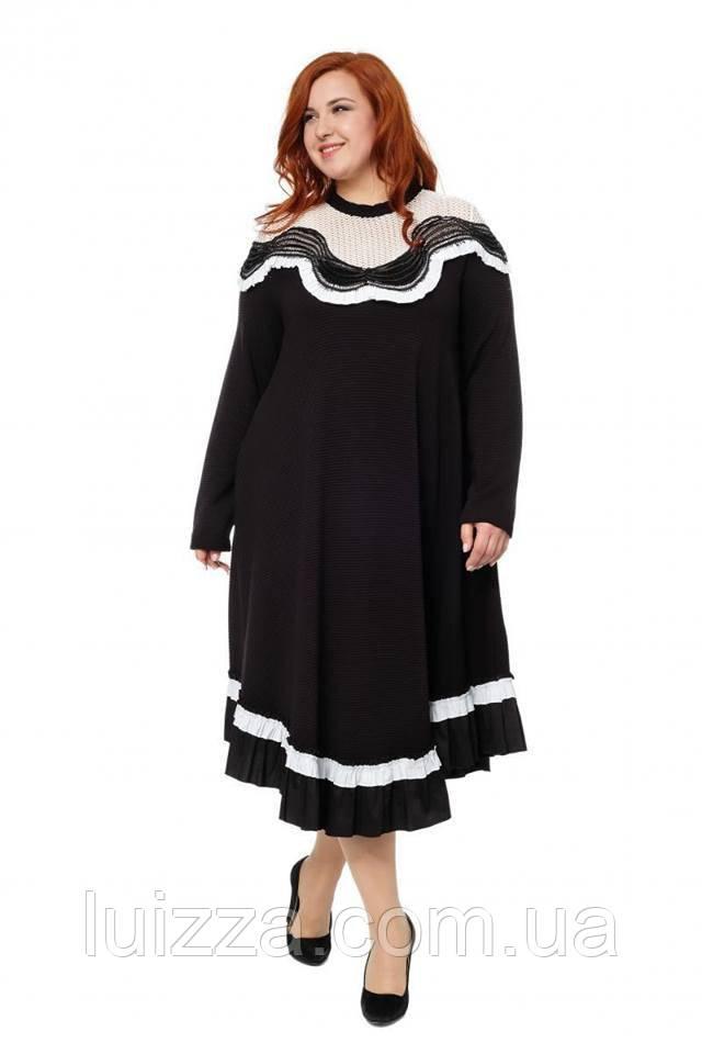 Длинное платье  Darkwin Турция 52 - 64 рр