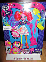 Кукла My Little Pony Equestria Girls Pinkie Pie Doll With Markers and Microphone Пинки Пай с микрофоном