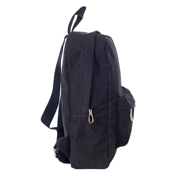 Городской женский стильный рюкзак Mayers, холст (темно коричневый), фото 2