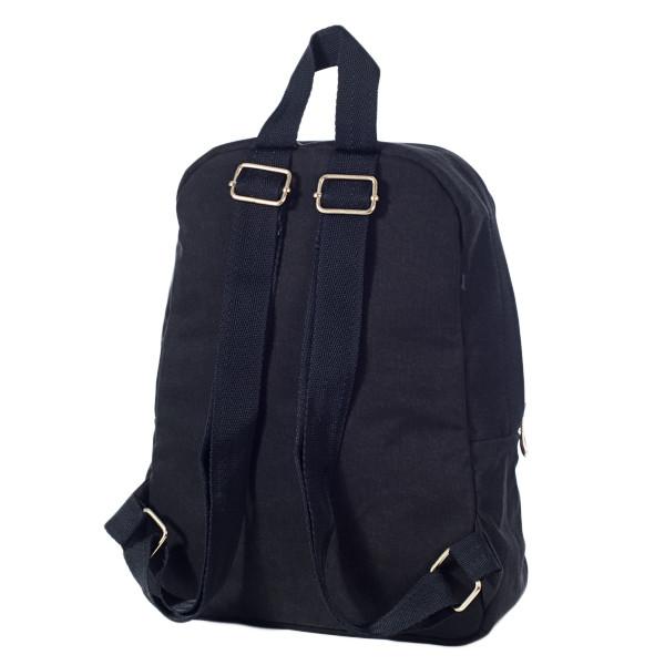 Городской женский стильный рюкзак Mayers, холст (темно коричневый), фото 3