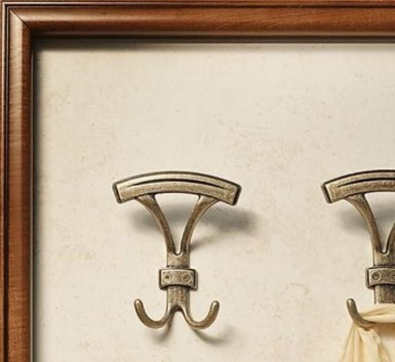 Купить крючок мебельный для вешалки