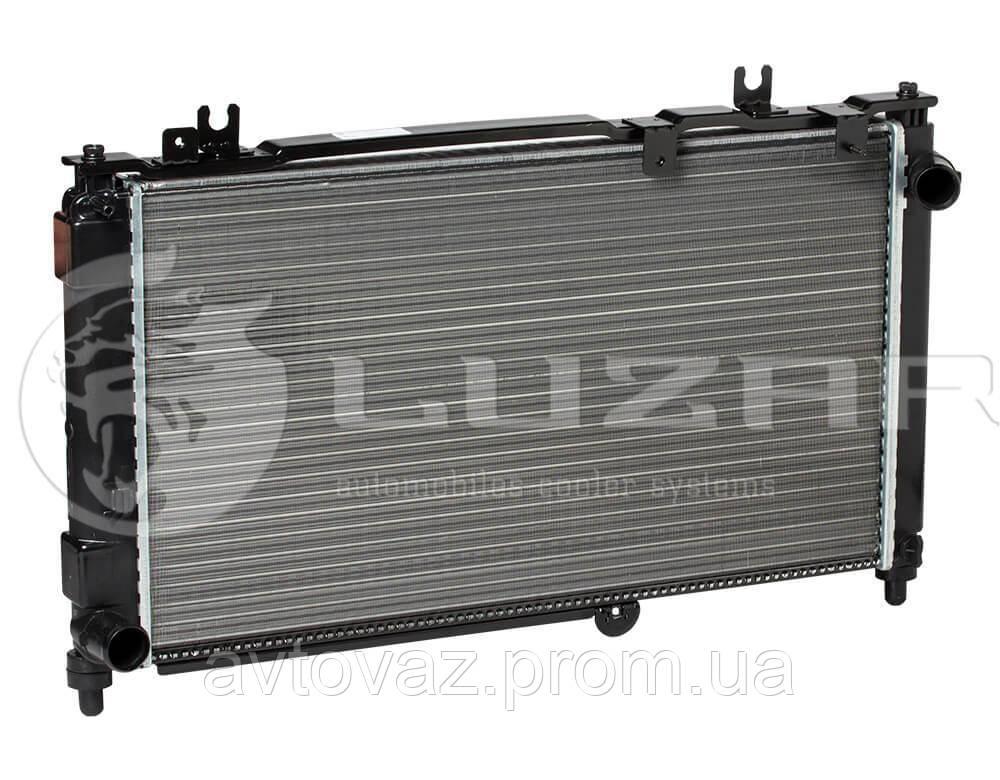 Радиатор охлаждения ВАЗ 2190, 2192 Гранта радиатор кондиционера (алюм-паяный) (LRc 0192b) ЛУЗАР