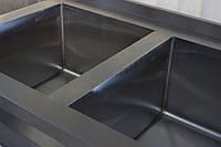 Ванна моечная промышленная для детского сада 1300/700/850 мм, глубина 400 мм, фото 1