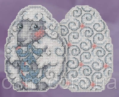 Набор для вышивки Mill Hill Sheep Egg by Jim Shore (2018)