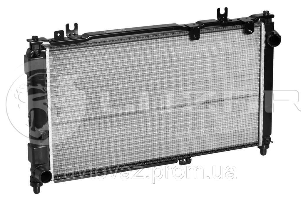 Радіатор охолодження ВАЗ 2190 Гранту/Datsun on-Do (алюм) (LRc 01900) ЛУЗАР