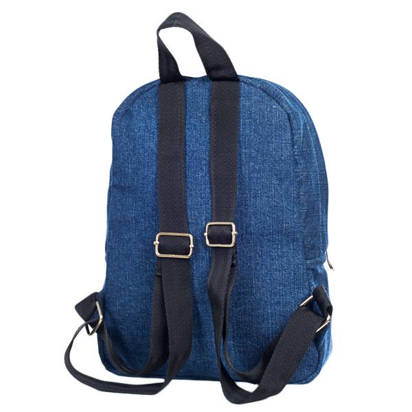 Стильный женский джинсовый рюкзак Mayers, синий, фото 5