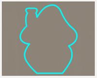 Вырубка кондитерская для пряника мастики марципана Домик 5