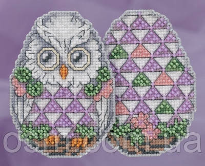Набор для вышивки Mill Hill Owl Egg by Jim Shore (2018)