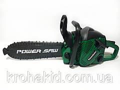 Детская бензопила Power Saw на батарейках 192E1  (Green / зеленый)