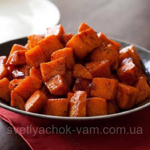 Батат Бушбок на ЇЖУ малосладкий дуже смачний соковитий і рецепт приготування