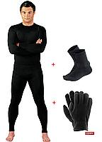 Термокомплект (термобелье + термоноски + флисовые перчатки)