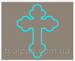 Вырубка кондитерская для пряника мастики марципана Крестик