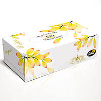 "Silken 2-сл. у коробці ""Natural"" жовта 150шт"
