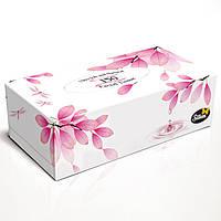 """Silken 2-сл. у коробці """"Natural"""" червона 150шт"""