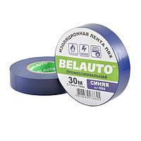 Изолента синяя 30м Белавто BI64