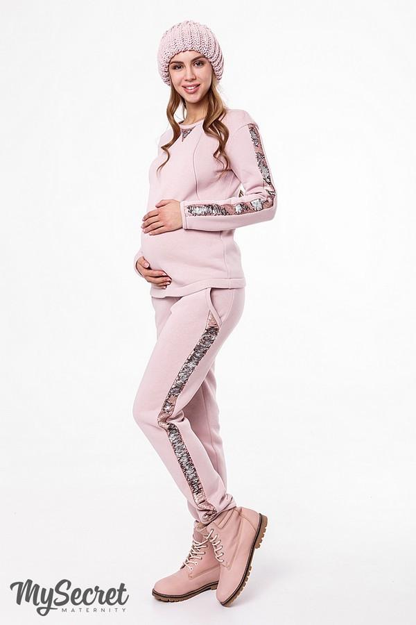 740fc6b7590 Модный теплый костюм для беременных и кормящих RYAN