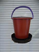 Годівниця-відро для корму, під комбікорми і зерно