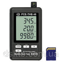 Регистратор давления, температуры и влажности PCE-THB 40 (Германия), фото 2