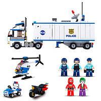 Конструктор SLUBAN Полиция, который включает в себя 572 детали отличный подарок для мальчика
