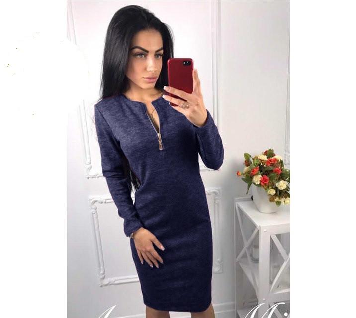 """Платье женское из ангоры """"Gabriella"""""""