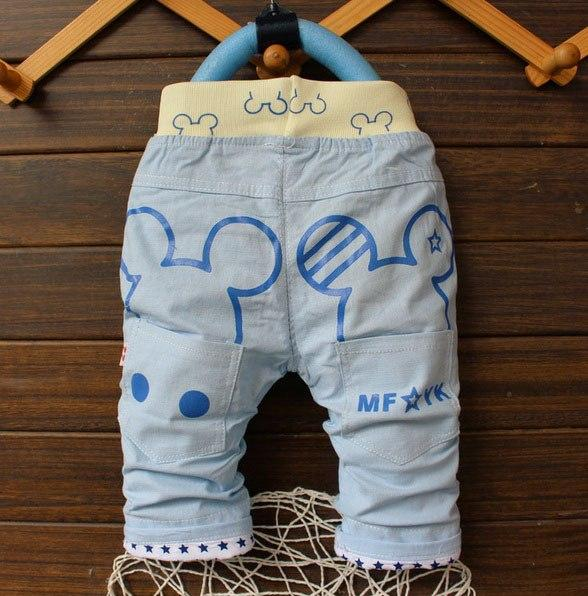 Бриджи для мальчиков синие 6531