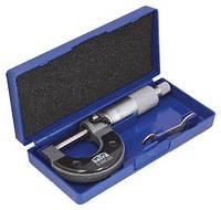 Мікрометр 0-25 мм SATRA S-MIC25, фото 1