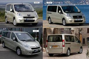 Кузовные запчасти для Fiat Scudo 2007-