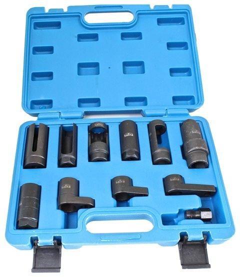 Набор для демонтажа кислородных датчиков 11 ед. SATRA S-X11OS