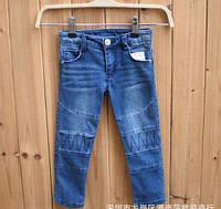 Джинсы для девочек синие 8051