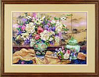 """01499 Набор для вышивания гладью DIMENSIONS Oriental Splendor """"Восточное великолепие"""""""