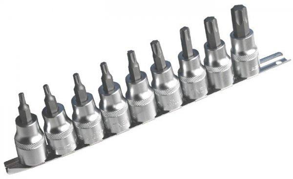 Набор головок со вставкой TORX 1/2 Т20-Т60, 9 шт. ASTA 954009-1