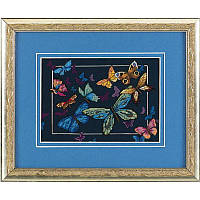 """06846 Набор для вышивания крестом DIMENSIONS Exotic Butterflies """"Экзотические бабочки"""""""