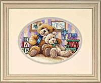 """06955 Набор для вышивания крестом DIMENSIONS Warm & Fuzzy """"Теплый и уютный"""""""