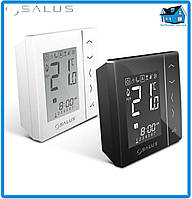 Беспроводной комнатный термостат с цифровой индикацией 4 в 1, питание от батареек, белый VS20WRF