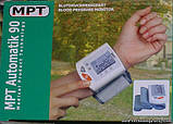 Автоматичний тонометр і пульсометр на зап'ясті MPT Automatik 90, фото 5
