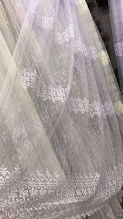 Тюль фатин оптом 7ARS853, фото 2