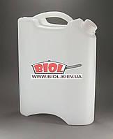 Канистра плоская 10л пластиковая пищевая Консенсус
