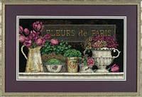 """35093 Набор для вышивания крестом DIMENSIONS Fleurs de Paris """"Цветы Парижа"""""""