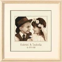 """35192 Набор для вышивания крестом DIMENSIONS First Love Wedding Record """"Первая любовь"""""""