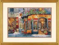 """35224 Набор для вышивания крестом DIMENSIONS European Bistro """"Европейское бистро"""""""