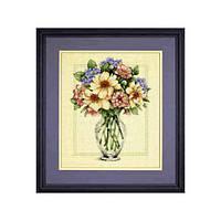 """35228 Набор для вышивания крестом DIMENSIONS Flowers in Tall Vase """"Цветы в высокой вазе"""""""