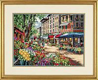 """35256 Набор для вышивания крестом DIMENSIONS Paris Market """"Рынками Парижа"""""""