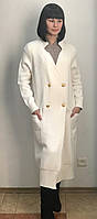 Кардиган T.Moska женский белый длинный, фото 1