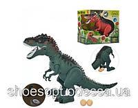 Робот Динозавр 45см, проектор, несет яйца, ходит, свет, звук