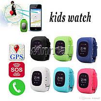 Детские смарт-часы с GPS Smart Watch Q50-SV Черные (smart_q50_black), фото 3