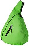 Трикутний рюкзак з регульованим плечовим ременем, фото 4